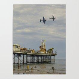 Paignton Pier Memorial Flight Poster