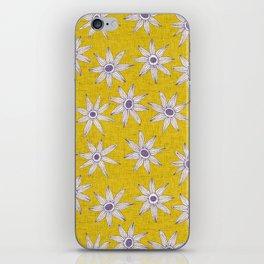 sema yellow violet iPhone Skin