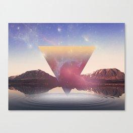 When The Nebula Hits Canvas Print