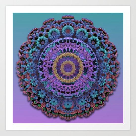 Asymmetrical Symmetry Art Print