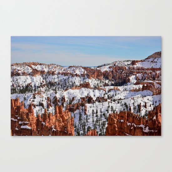 Bryce Canyon - Sunset Point Canvas Print