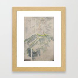 Lior in the Clouds  Framed Art Print