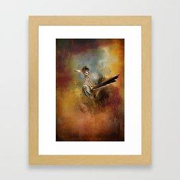 Greater Roadrunner Framed Art Print