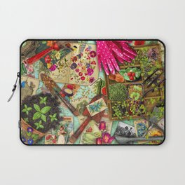 A Vintage Garden Laptop Sleeve