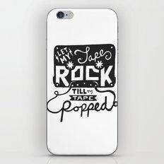Tape Rock iPhone & iPod Skin