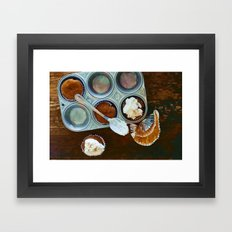 Home Cooking 1 Framed Art Print