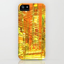 A waved skyscraper iPhone Case