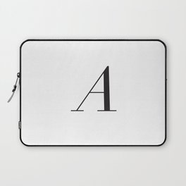 A Slanted Typography  Laptop Sleeve