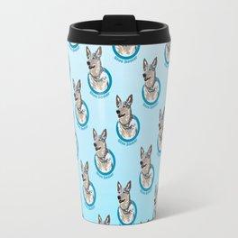 Blue Heeler Print Travel Mug