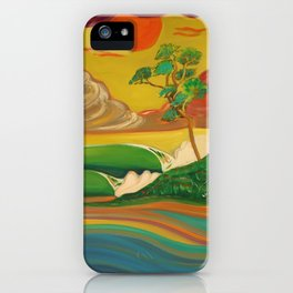 deep_water art iPhone Case