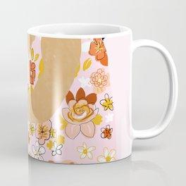 Bohemian Lady Coffee Mug