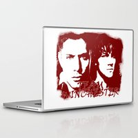winchester Laptop & iPad Skins featuring Team Winchester by Panda Cool