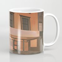 sports Mugs featuring Sports Direct by Janet Wareing