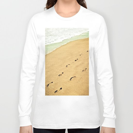 Footprints Long Sleeve T-shirt