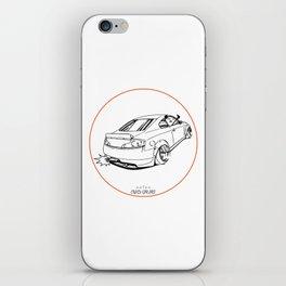 Crazy Car Art 0221 iPhone Skin