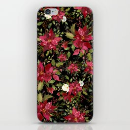 POINSETTIA iPhone Skin