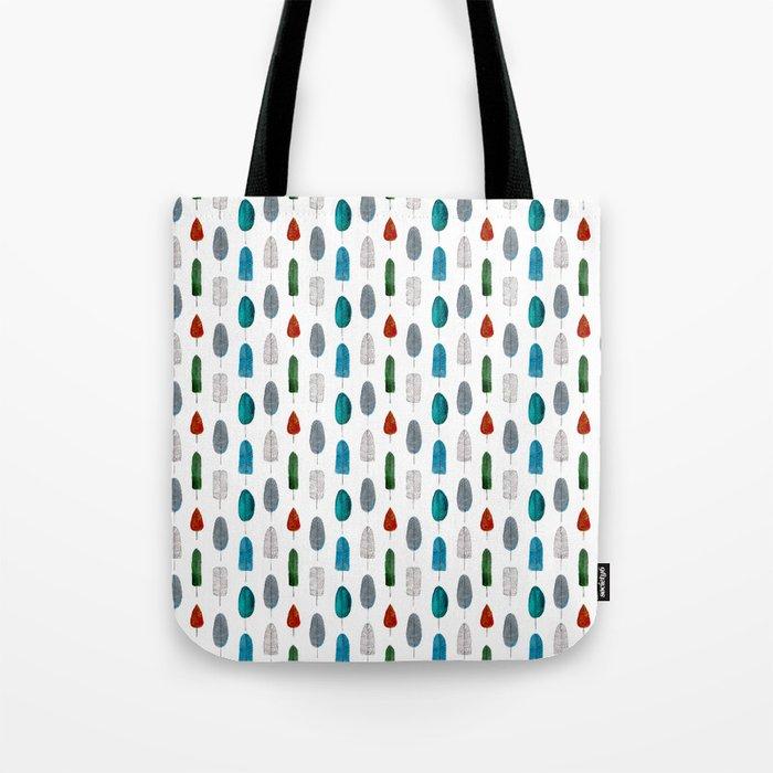 Leafs pattern Tote Bag