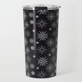 Grey Constellation Travel Mug