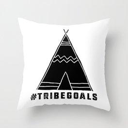 Tribe Goals Throw Pillow