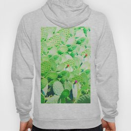 Watercolor of cacti IV Hoody