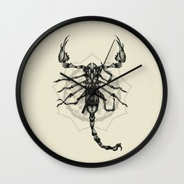 Escorpião Wall Clock