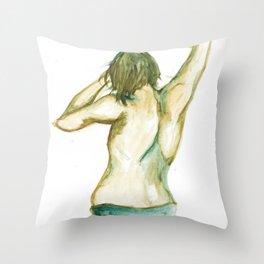 Dancing Boy Throw Pillow