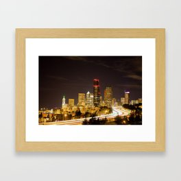 Meet you in Beautiful Seattle Framed Art Print