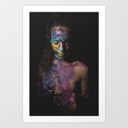 Colors of Women, C.F. 1 Art Print