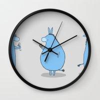 ass Wall Clocks featuring Ass by Skylar Hogan