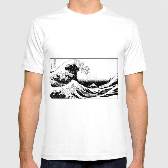 Kanagawa Oiled T-shirt