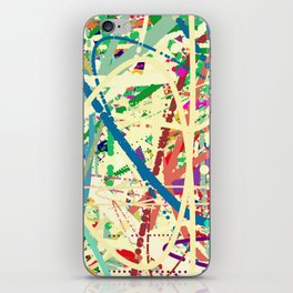 An Homage to Pollock iPhone Skin