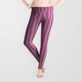 Flirty Burlesque Stripes Leggings