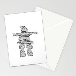 Inukshuk Stationery Cards