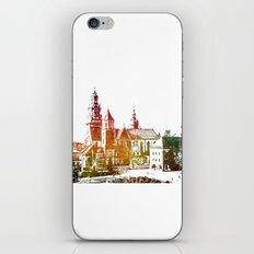 Cracow Wawel iPhone Skin