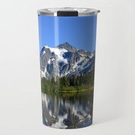Mount Shuksan - View from Picture Lake Travel Mug