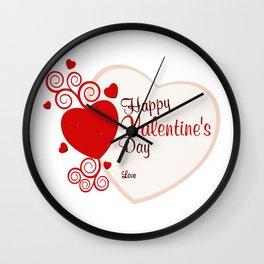 Day Valentine Wall Clock