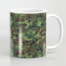 U.S. Woodland Camo Coffee Mug
