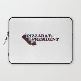 PizzaRat for President Laptop Sleeve