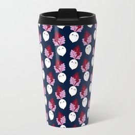 Cute white beetroots Travel Mug