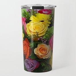 A Touch of Elegance Floral Arrangement Travel Mug
