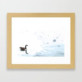 Mother Goose Framed Art Print