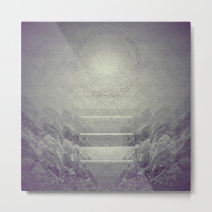 Above Metal Print