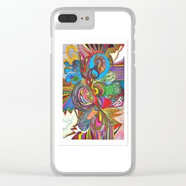 king of zing Clear iPhone Case