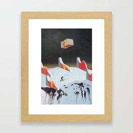 17:56 Framed Art Print