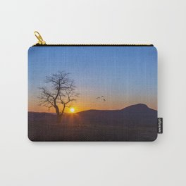 Sunset Over Buffalo Mountain Carry-All Pouch