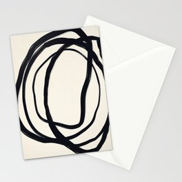 So Much Noise - Abstract Art Print Stationery Cards