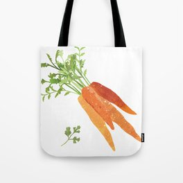 Carrot Illustration Tote Bag
