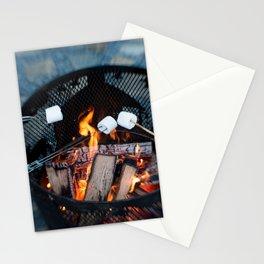 Roasting Marshmellows Stationery Cards