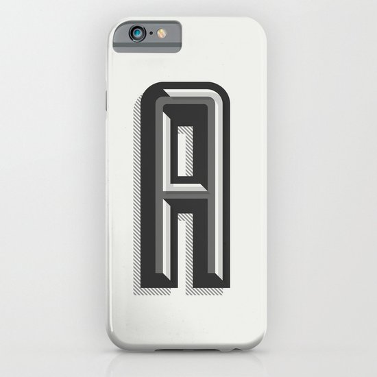 Letter A iPhone & iPod Case