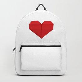 Origami Heart Backpack